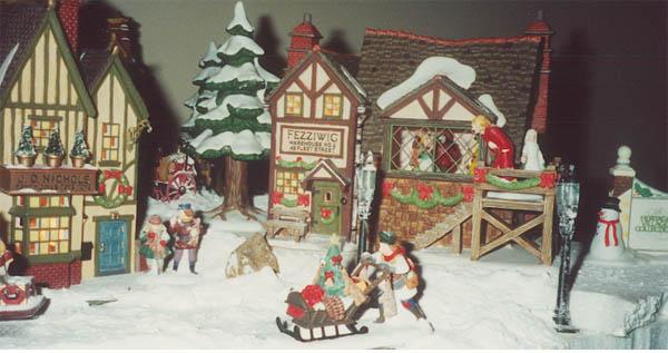 A snowy Dickens Ride