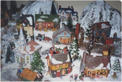 Dept 56 Display New-England-Village